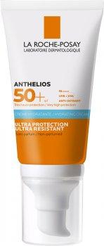 Солнцезащитный крем La Roche-Posay Anthelios Ultra Cream SPF 50+ для чувствительной кожи лица и кожи вокруг глаз 50 мл (3337875588560)