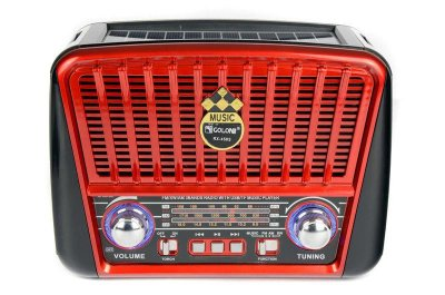 Ретро радиоприёмник RX-456 S USB/аккумулятор