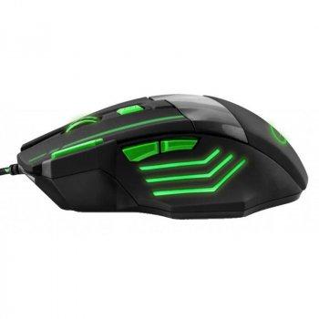 Миша Esperanza EGM201G Wolf Black/Green USB