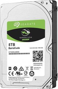 Жорсткий диск Seagate BarraCuda HDD 5TB 5400rpm 128MB ST5000LM000 2.5 SATA III