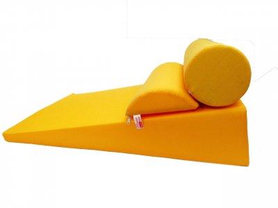 "Комплект ""Комфорт"" клиновидная подушка рефлюкс 17 см Желтый"
