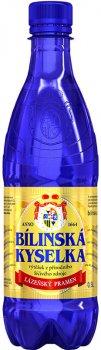 Упаковка воды Bilinska Kyselka минеральной лечебно-столовой0.5 л х 12 шт (8594730100014)