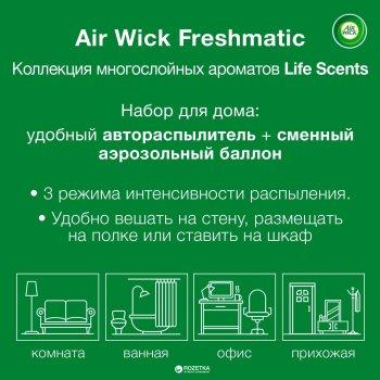 Автоматический освежитель воздуха Air Wick Freshmatic Life Scents многослойный Сказочный сад 250 мл -30% скидка (5900627066173)