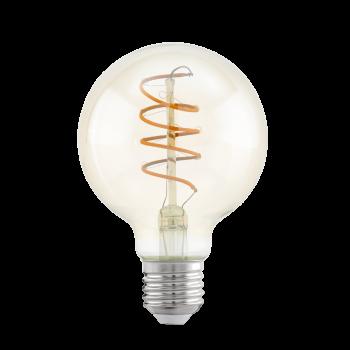 Світлодіодна лампа Eglo 11722 E27 LED G80 4W 2200K