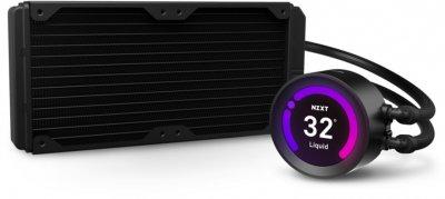 """Система рідинного охолодження NZXT Kraken Z53 — 240 мм AIO Liquid Cooler with 2.36"""" Display (RL-KRZ53-01)"""