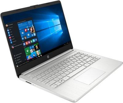 Ноутбук HP 14s-fq0002ur (1B2R2EA) Silver