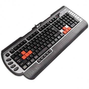 Клавіатура A4-Tech X7-G800MU (X7-G800MU-R) Black ps/2