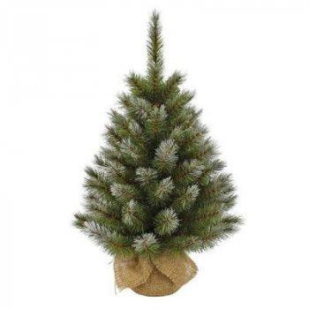 Искусственная сосна Triumph Tree зеленая с эффектом иния, 0,9 м (8717669775799)