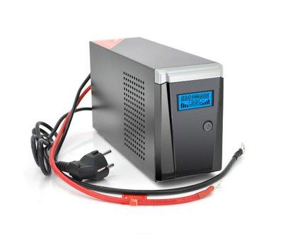 ДБЖ Ritar RTSW-500 LCD, Lin.int., 1xSchuko, метал (RTSW-500 LCD/11753)