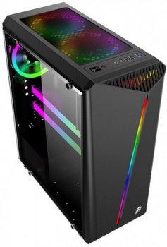 Корпус 1stPlayer R3-3R1 Color LED Black без БЖ