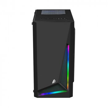 Корпус 1stPlayer R2-1R1 Color LED Black без БЖ