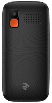 Мобільний телефон 2E T180 2020 DualSim Black (680576170064)