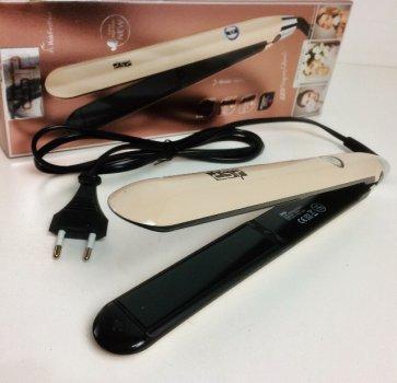 Утюжок випрямляч щипці для волосся DSP 10052 Бежевий (par_DSP 10052_1)