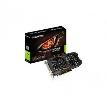 Відеокарта GIGABYTE GeForce GTX1050 2048Mb OC WINDFORCE 2X (GV-N1050WF2OC-2GD)