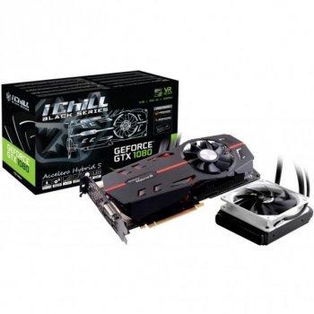 Відеокарта INNO3D GeForce GTX1080 8192Mb iChill Hybrid S BLACK (C108B-3SDN-P6DNX)