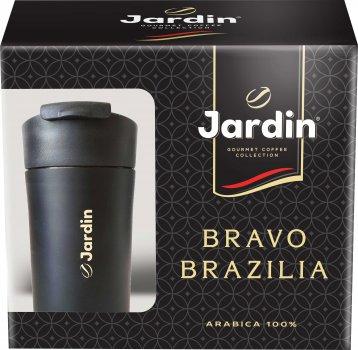 Набор Кофе молотый Jardin Bravo Brazilia 250 г + Металлическая термочашка (4823096807973)