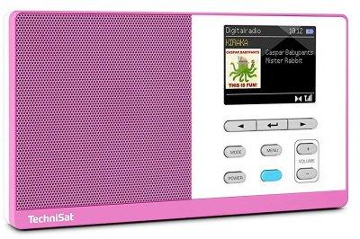 Радиоприемник TechniSat DigitRadio Kira 1 Violet-White