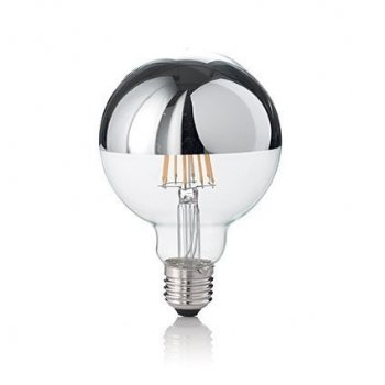 Світлодіодна лампа Ideal Lux Led Classic E27 8W Globo D95 Cromo 3000K (135526)