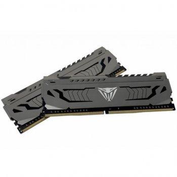 Модуль пам'яті для комп'ютера DDR4 16GB (2x8GB) 3000 MHz Viper Steel Patriot (PVS416G300C6K)