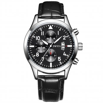 Мужские часы SWIDU SWI-081 Black