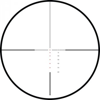 Приціл оптичний Hawke Vantage IR 4-12x50 (Rimfire .22 LR Subsonic R/G) (925182)
