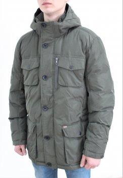 Куртка чоловіча Tom Tailor Padded solid jacket 3533491 Green