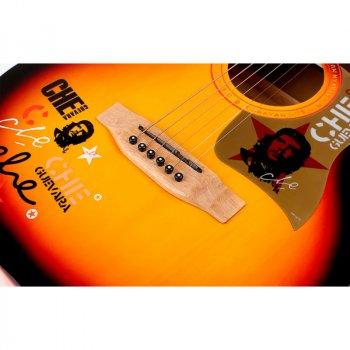 Акустическая гитара Caravan Music HS-4015 санбёрст (HS-40153TS)