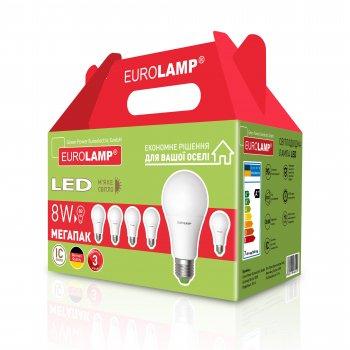 Набір світлодіодних ламп Eurolamp MLP-LED-A60-08273(6)