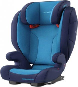 Автокрісло RECARO Monza Nova EVO SeatFix Xenon Blue (88012190050)