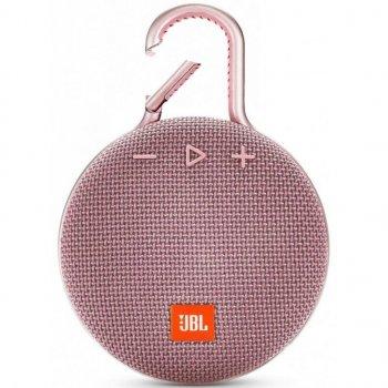 Акустична система JBL Clip 3 Pink (JBLCLIP3PINK)