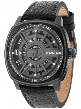 Годинник Police PL15239JSB.13 Speed Head Herren 49mm 5ATM