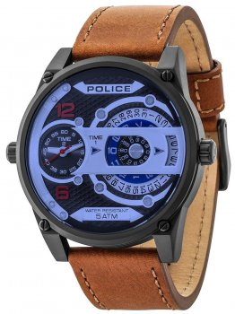 Годинник Police PL14835JSB.02 D-Jay Multifunktion 51mm 5ATM