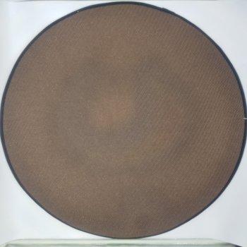 Килимок 3D круглий безворсовий з 3д принтом килимок для будинку 80 см Лайм (936486459001)
