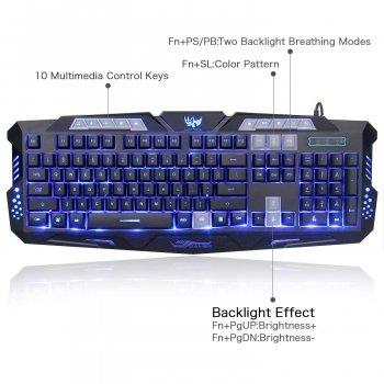Комплект (клавиатура + мышь) MFTEK M200 (DE-KK1COM-US) Refurbished