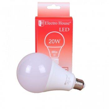 LED лампа ElectroHouse А70 Е27 20 W (EH-LMP-1402)
