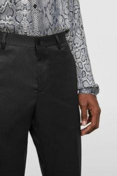 Черные демисезонные прямые брюки