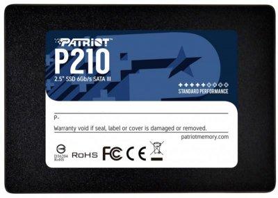 "Накопичувач SSD 256GB Patriot P210 2.5"" SATAIII TLC P210S256G25"