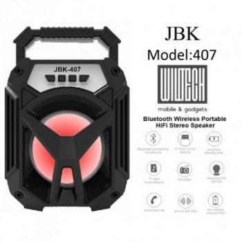 Мобільна колонка JBK-407 BT Bluetooth
