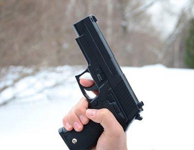 Страйкбольный пистолет Galaxy G.26 (Sig Sauer 226), металл-пластик