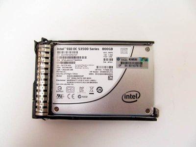 SSD HP 800GB SATA 6G SFF SSD (718139-001) Refurbished