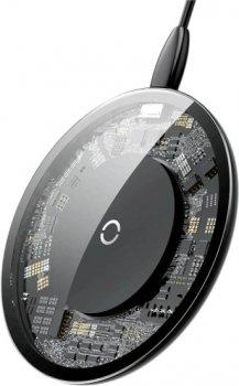 Бездротовий зарядний пристрій Baseus Simple Wireless Charger Black (CCALL-JK01)