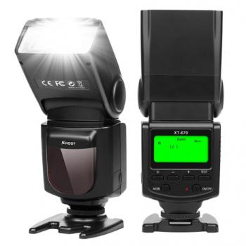Вспышка для фотоаппаратов Nikon - SHOOT Speedlite XT-670