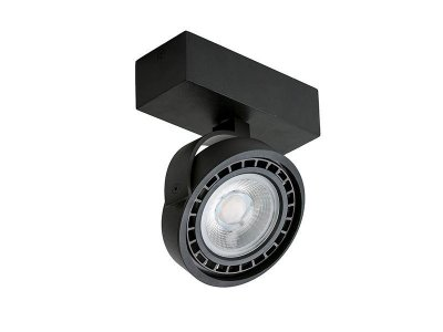Спот Azzardo AZ1367 JERRY 1 230V LED 16W BK (GM4113-230V)