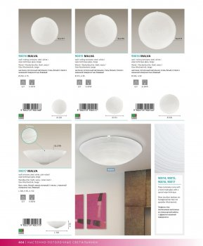 Світильник настінно-стельовий Eglo 90016 MALVA