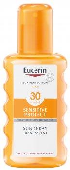 Солнцезащитный спрей Eucerin SPF 30 200 мл (4005800005589)