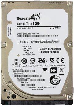"""Жесткий диск Seagate Laptop SSHD 500GB 5400rpm 64MB 2.5"""" SATA III (ST500LM000)"""