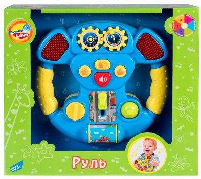 Іграшка музична Mommy Love Кермо Синій (60095-1) (4812501160895-1)