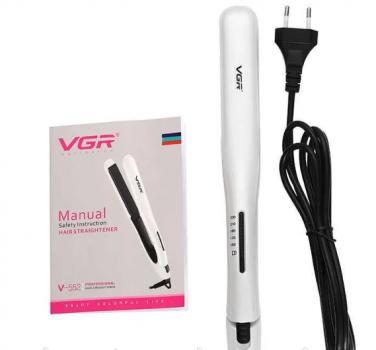 Випрямляч професійний для волосся з керамічним покриттям VGR V-552