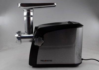 Електром'ясорубка з соковижималкою і насадками Promotec PM-1055 3200 Вт Black/Silver