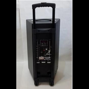 Портативна акустична система колонка ZPX ZX7777 на акумуляторі USB Bluetooth FM 120 Вт